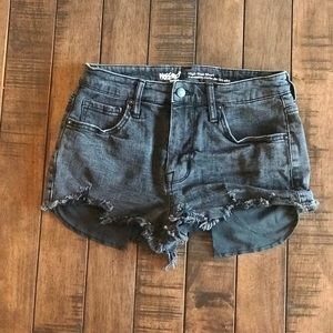 Mission high rise shorts